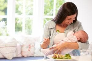A woman's need for calories, proteins, vitamins, minerals and water increases after delivery.