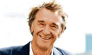 Jim Ratcliffe, CEO of British petrochemicals company INEOS, is worth £21.05 billion.