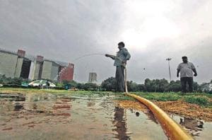 the wastage is happening even when Chandigarh faces a shortfall of 50 million gallons daily (MGD) against a demand of 116 MGD, a report has said.