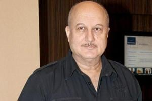 Anupam Kher played father in The Boy With The Topknot.
