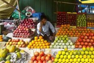 Inflation in the fruit basket was higher at 9.65% compared to 5.78% in the previous month.