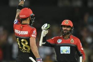 Royal Challengers Bangalore defeated Kings XI Punjab on Monday to be alive in race for IPL2018 playoffs.