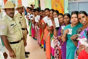 Counting of votes for declaring the Karnataka election results 2018 starts on Tuesday morning.