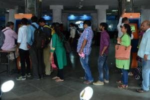 Currently, commuters have to stand in queues to buy tickets or recharge smart cards from each operator.