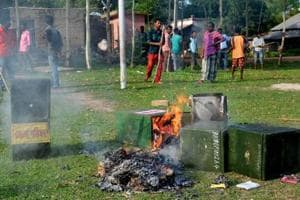 Bengal SEC under fire from opposition over violence in panchayat elections