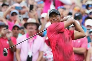 Tiger Woods finished joint-11th in the Players Championship as Webb Simpson won the tournament by four strokes.
