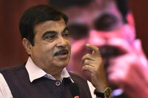 Nitin Gadkari  is the Union minister for road transport, highways and shipping.