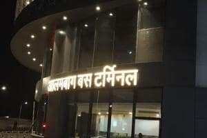 Developed and designed by Shalimar Malls Pvt Ltd, a private company, at a cost of over Rs 200 crore, the Alambagh bus station is spread over 26,500 sqmt.