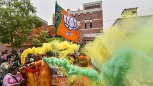 The BJP is emerging as the single largest party in the Karnataka Assembly polls.
