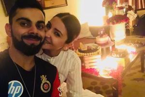 Virat Kohli and Anushka Sharma celebrate her birthday together.