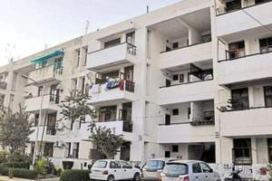 Violations include additional rooms and toilets, conversion of balconies into rooms, covering of the courtyard and even construction of stairs on government land.