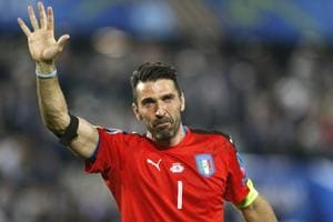 Gianluigi Buffon, 40, captained Juventus to a seventh straight Serie A title and fourth consecutive Italian Cup triumph this season.