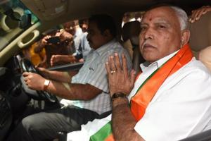 The Supreme Court issued notices to the Karnataka government and Yeddyurappa seeking their replies on the plea filed by the Congress-JD(S) combine and posted the matter for hearing on Friday.