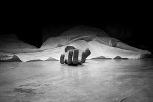 A journalist was found hanging from the ceiling with his knees half bent resting on a table in Jharkhand's Bishrampur area.