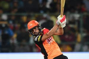 Manish Pandey's unbeaten 62 came to no avail as Sunrisers Hyderabad went down by 14 runs to Royal Challengers Bangalore in their IPL 2018 clash on Thursday.