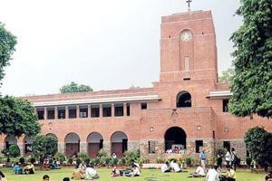 A file photo of Delhi University's St Stephen