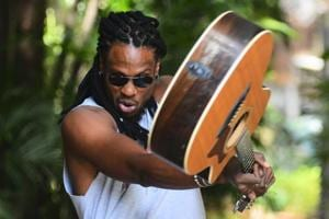 Musician Omari Banks is excited about being in India and is looking forward to collaborations with Indian artistes