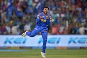 Shreyas Gopal picked up 4/16 as Rajasthan Royals won by 30 runs to knock Virat Kohli's Royal Challengers Bangalore out of the tournament.