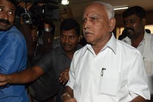 Karnataka chief ministerial BS Yeddyurappa
