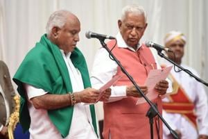 Karnataka Governor Vajubhai Vala  made a wilful and terrible mistake by swearing in B S Yeddyurappa as chief minister