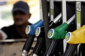 The petrol price on Sunday touched a record high of Rs 76.24 per litre and diesel climbed to its highest ever level of Rs 67.57 as the oil PSUs passed on four weeks of relentless rise in international oil prices to consumers.