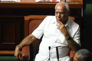 BS Yeddyurappa, 75, belongs to the Lingayat community, which makes up around 15% of the Karnataka population.