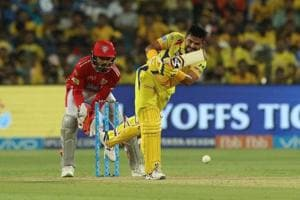 Suresh Raina's attacking fifty helped Chennai Super Kings knock out Kings XI Punjab from the play-off race with a five-wicket win. Get highlights of Chennai Super Kings vs Kings XI Punjab, IPL 2018, MCA stadium here