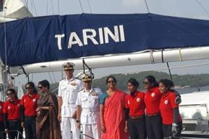 The expedition, Navika Sagar Parikrama, was the first-ever Indian circumnavigation of the globe by an all-women crew.