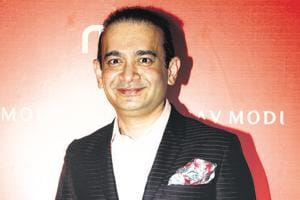 Nirav Modi (pictured) and his uncle Mehul Choksi are accused of bank fraud to the tune of Rs 14,500 crore.