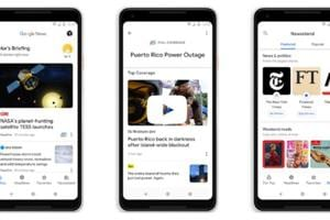 Google New redesign is available on desktop, iOS and Android.
