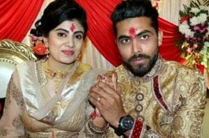 Ravindra Jadeja's wife Reeva was allegedly attacked by a constable on Monday.