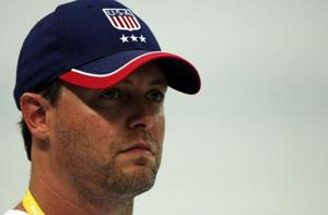 Sean Hutchison, who was the assistant coach on the 2008 US Olympic team, has denied the allegations of sexual abuse, which emerged earlier this year when Ariana Kukors Smith, now 28, posted an emotional essay online.
