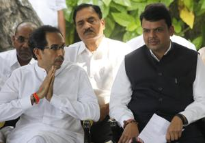 This is the first time that the Shiv Sena has fielded a candidate for a seat held by its ally.