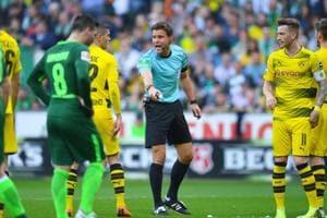 German referee Felix Brych has a PhD in law.