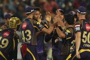 KKR held their nerve to win by 25 runs and knock RRout of the competitionin the Indian Premier League (IPL) 2018 Eliminator in Kolkata on Wednesday. Get full cricket score of Kolkata Knight Riders vs Rajasthan Royals, IPL 2018 Eliminator here.