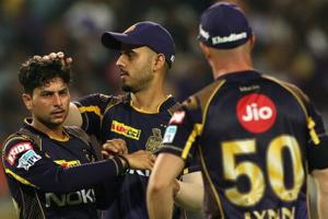 IPL 2018:KKRbeat RRby 25 runs to set up virtual semi-final date against...