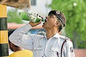 There are at least 2,500 Delhi traffic personnel out in the field at any given day and  many of them are on the roads for as long as 12 hours.