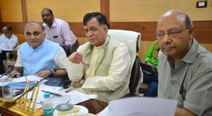 Minister for industry Satish Mahana presided over the interactive session called to discuss the investments.