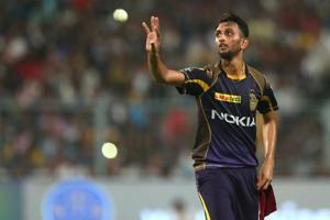 Prasidh Krishna has taken 10 wickets in six matches in the 2018 Indian Premier League (IPL).