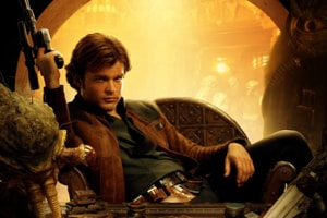 Alden Ehrenreich isn't channelling Harrison Ford, and that's a good thing.
