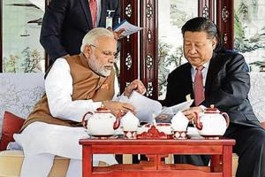 PM Narendra Modi and Chinese President Xi Jinping had committed to cooperating on counter terrorism in Wuhan.