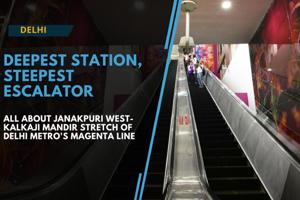 Watch: All about Janakpuri West-Kalkaji Mandir stretch of Delhi Metro's...
