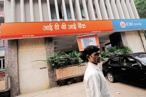 IDBI Bank's shares were down 2.38% or Rs 1.60  to Rs 65.50 on the NSE on Friday.