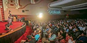 The festival opened at Liberty cinema onWednesday.