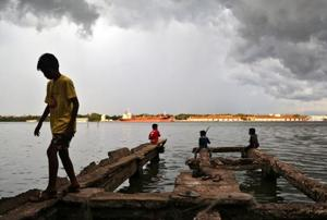 While Lakshadweep, Kerala, Tamil Nadu, Puducherry and Karnataka saw the skies open up, heat-wave conditions are very likely to persist over parts of northwest and central India for next the 34 days.