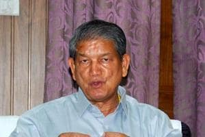 Former chief minister Harish Rawat.