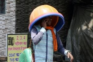The heat wave in Delhi continues with no relief of rain expected until next week.