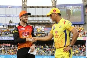 Kane Williamson will square off against MSDhoni for the fourth time in IPL2018 as Sunrisers Hyderabad prepare to take on Chennai Super Kings in the final at the Wankhede stadium.