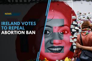 Ireland votes to end abortion ban