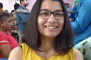 Shabdita Tiwari wants to study history from Delhi University for her graduation.